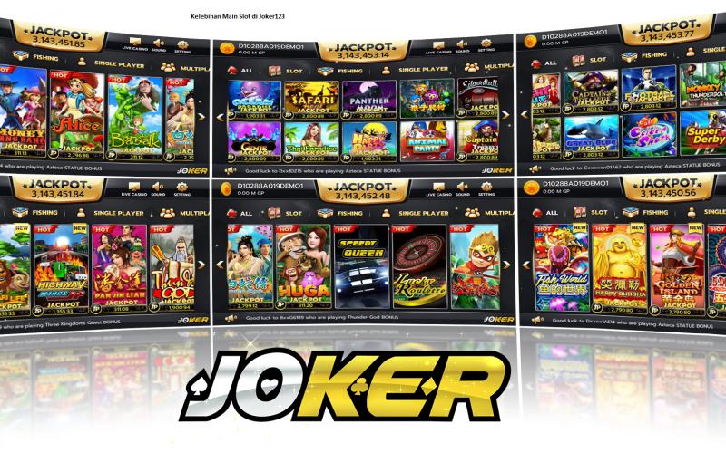 Kelebihan Main Slot di Joker123